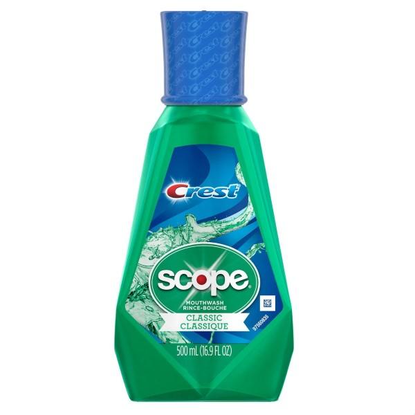 SCOPE MOUTHWASH 500ML *CLASSIC ORIG. MINT*