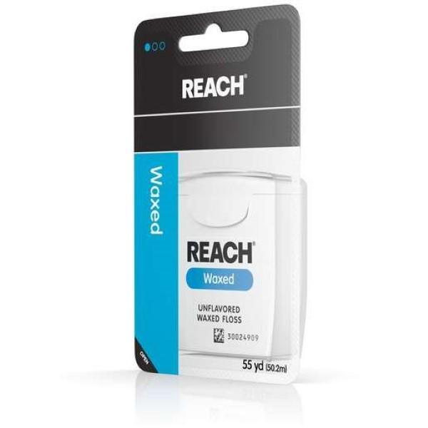 REACH DENTAL FLOSS 55YD *WAXED*