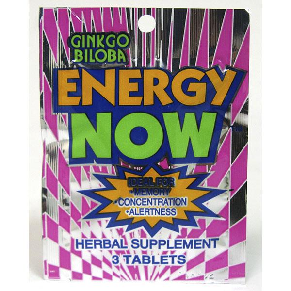 ENERGY NOW 3'S *GINKGO BILOBA*