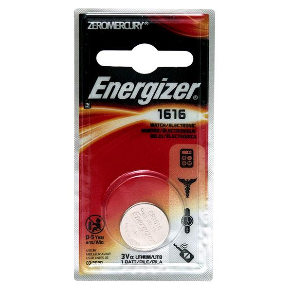 ENERGIZER WATCH BATTERY *CR1616* #ECR1616BP