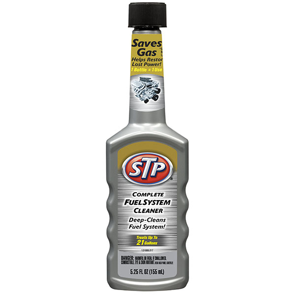 STP COMPLETE FUEL SYSTEM CLEANER 5.25FL.OZ