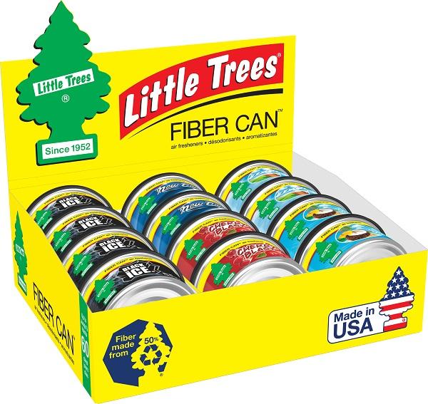 LITTLE TREE C.F. FIBER CANS *ASST.* 12CT DS