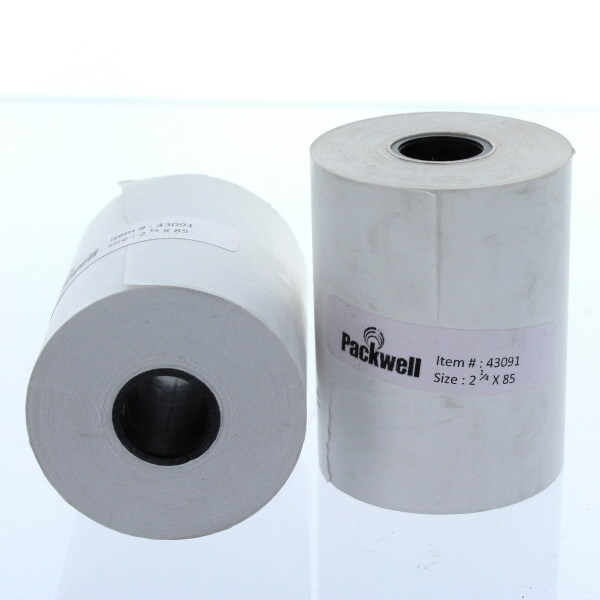 PAPER ROLL THERMAL 3 1/8
