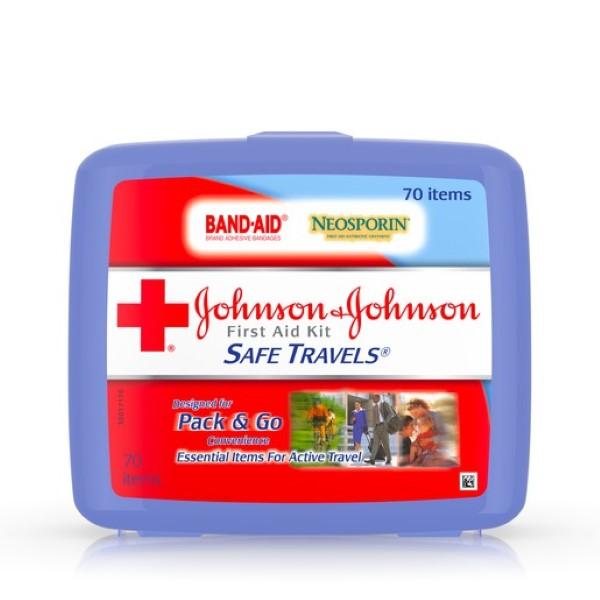 J&J FIRST AID KIT 70'S *SAFE TRAVELS*