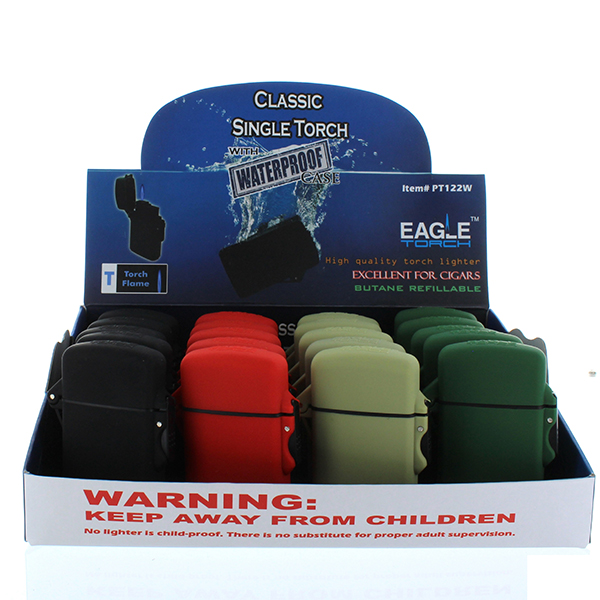 EAGLE TORCH LIGHTER SQUARE WATERPROOF #PT122W