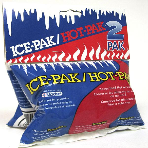 ICE-PAK/HOT-PAK REUSABLE COLD/HOT GEL PKS 2'S