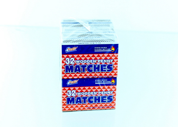 SAFETY PENNY MATCHES 32'S 10PK