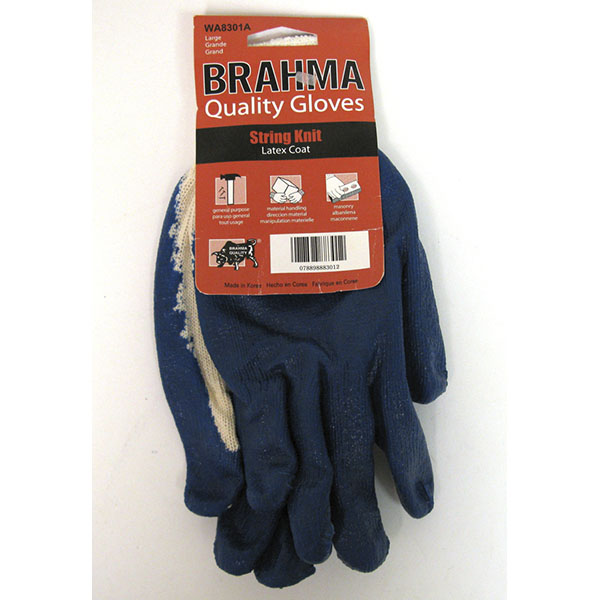 BRAHMA KNITTED BLUE LATEX PALM #WA8301A