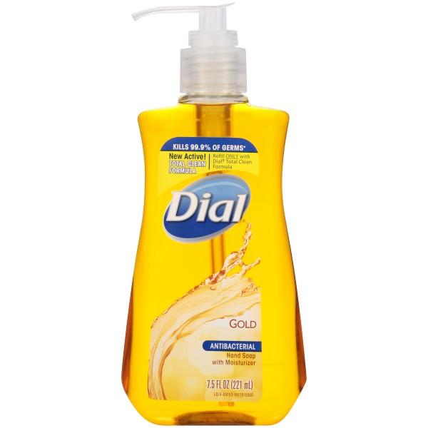 DIAL LIQ. HAND SOAP A/B 7.5FL.OZ *GOLD*