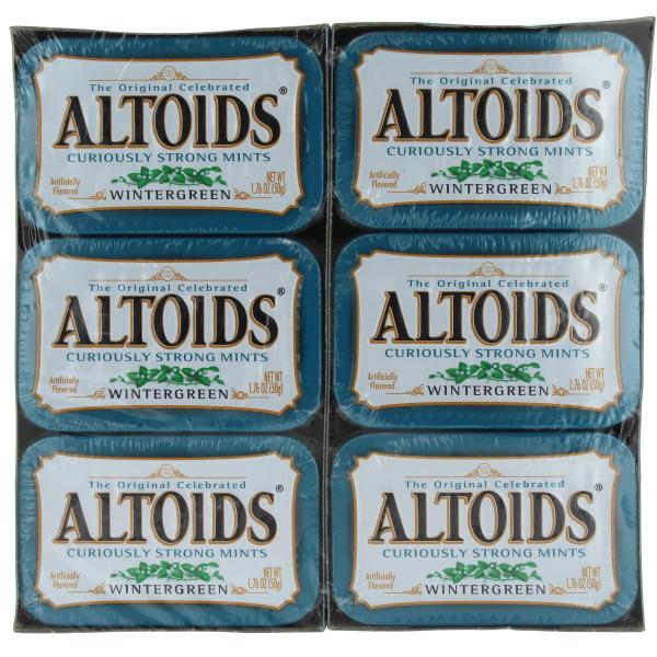 ALTOIDS 1.76OZ 12CT *WINTERGREEN*