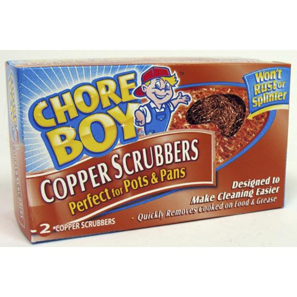 CHORE BOY SCRUBBER COPPER 2'S