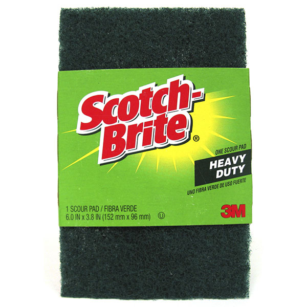 SCOTCH-BRITE SCOUR PAD 1'S *HEAVY DUTY* #220
