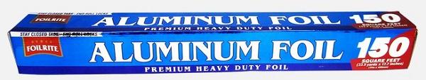 FOILRITE ALUMINUM FOIL 150SQ.FT. 33.9YDS.X17.7