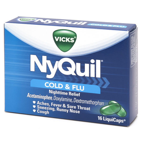 VICKS NYQUIL COLD & FLU 16'S