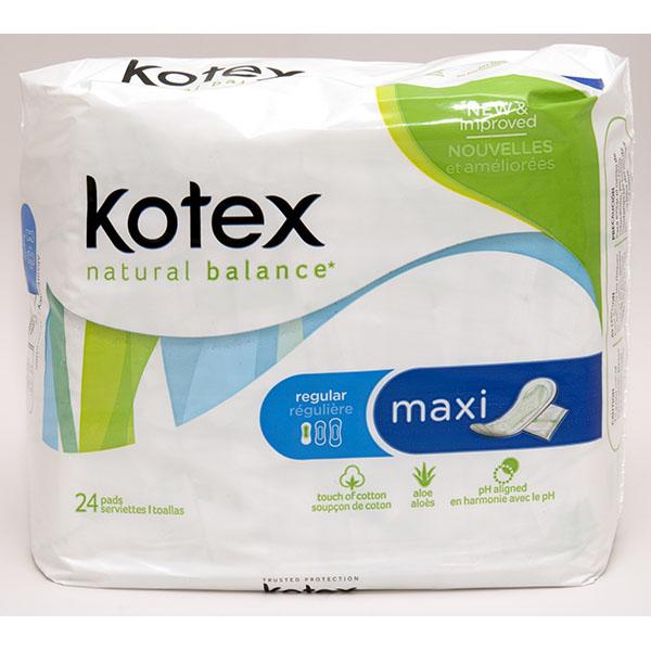 KOTEX MAXI 24'S *REG.*