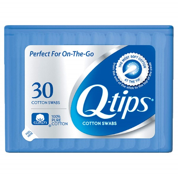 Q-TIPS COTTON SWABS 30'S PURSE PACK