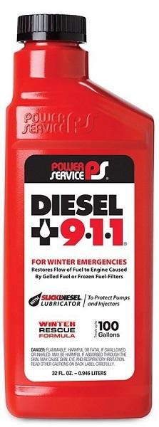 POWER SERVICE DIESEL 9-1-1 32FL.OZ