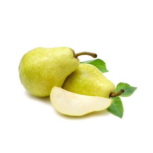 Pear - Green, Imported - 4 Pcs
