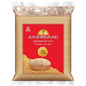 Aashirvaad Whole Wheat Aata - 5Kg
