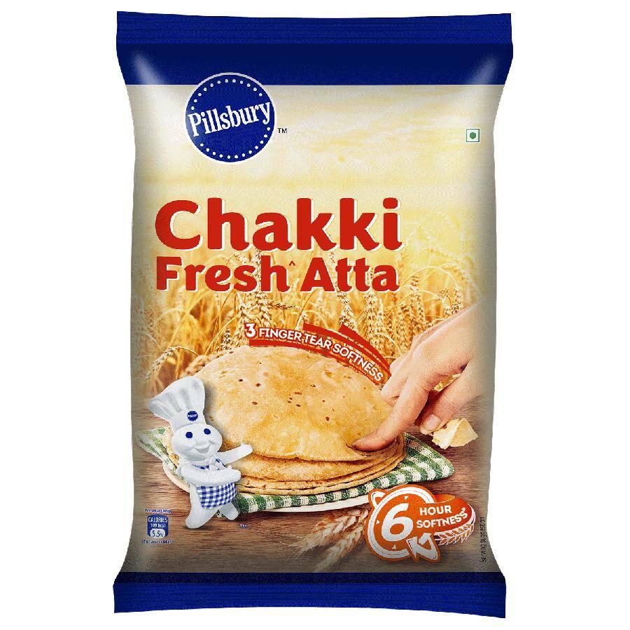 Pillsbury Atta - Chakki Fresh - 5 kg