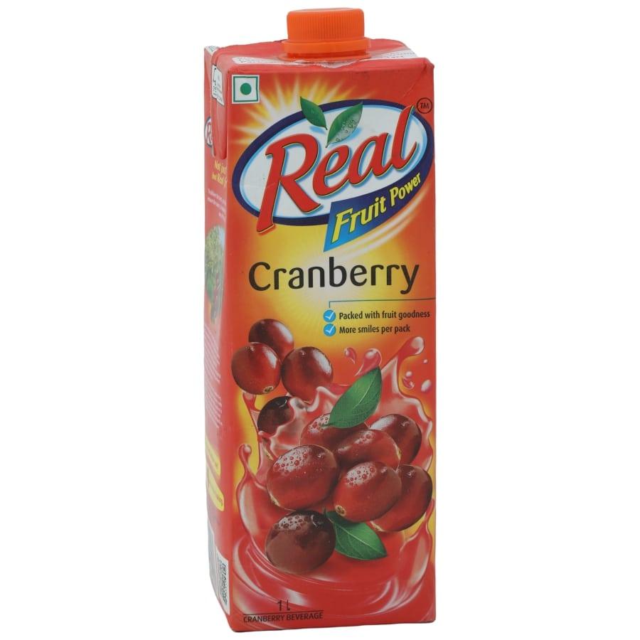 Real Juice - Fruit Power, Cranberry