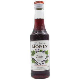 Monin Syrup - Blackcurrant Flavored, 250 ml