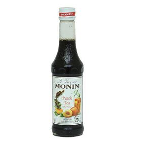 Monin Syrup - Peach Tea with Natural Tea Extracts, 250 ml