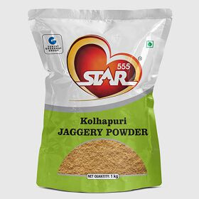 STAR 555® Kolhapuri Jaggery Powder (DRY), 1 Kg