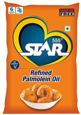 Star 555® Refined Palm Oil, 1 LTR