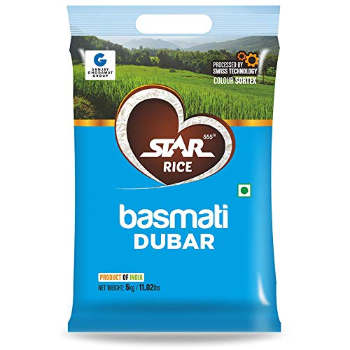 Star555® Star Basmati Dubar, 5 Kg
