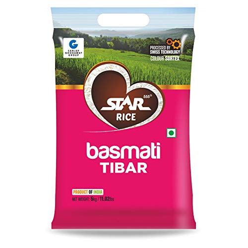 Star555® Basmati Tibar, 5 Kg