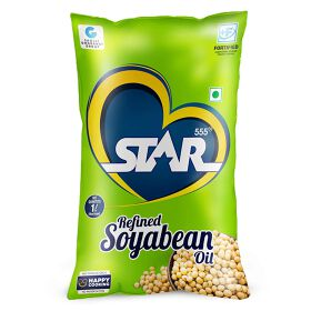 STAR 555® Refined Soyabean Oil, 1 Ltr