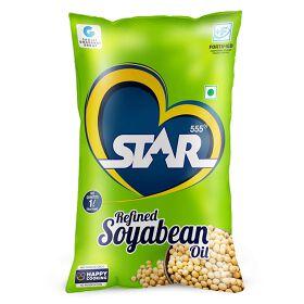 STAR 555® Refined Soyabean Oil, 1 Ltr