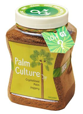Wellbeing Organic Palm Culture - Crystallised Palm Jaggery, 500G
