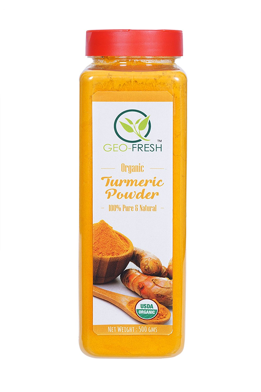 Geo-Fresh Organic Turmeric Powder (500G) - Usda Certified