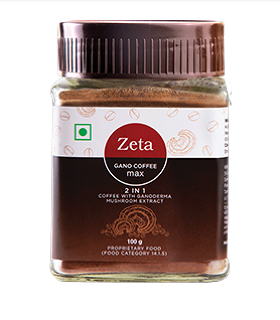 Zeta Gano coffee max 2 in 1 (100g)