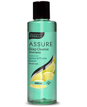 Assure deep cleanse shampoo (200ML)