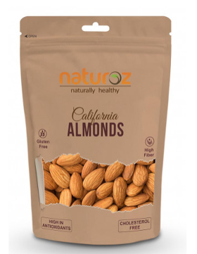 Naturoz California Almonds / Badam, Dry Fruits (550g.)