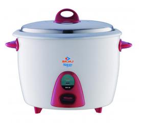 Bajaj Majesty RCX 28 1000 Watt Multifunction Electric Rice Cooker (2.8Ltr, White)