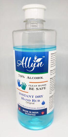 Allyn hand sanitizer 70% alcohol based (1000ml)