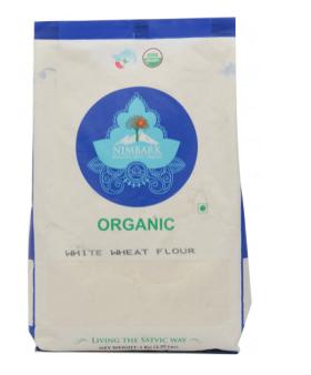 Nimbark Organic White Wheat Flour/Maida (1Kg.)