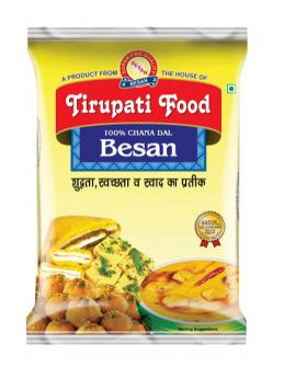 Tirupati Food Gram Flour / Besan (1Kg.)