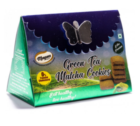Muyum Green Tea Matcha Cookies 60g
