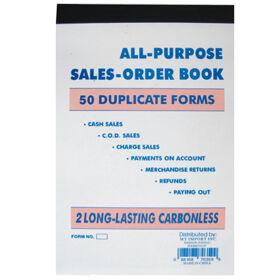 Duplicate Sales Book 5