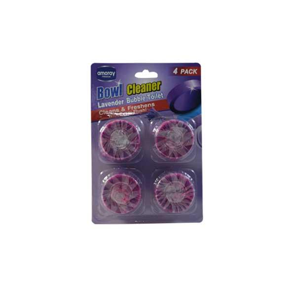 Amoray Toilet Tab 4PK Lavender