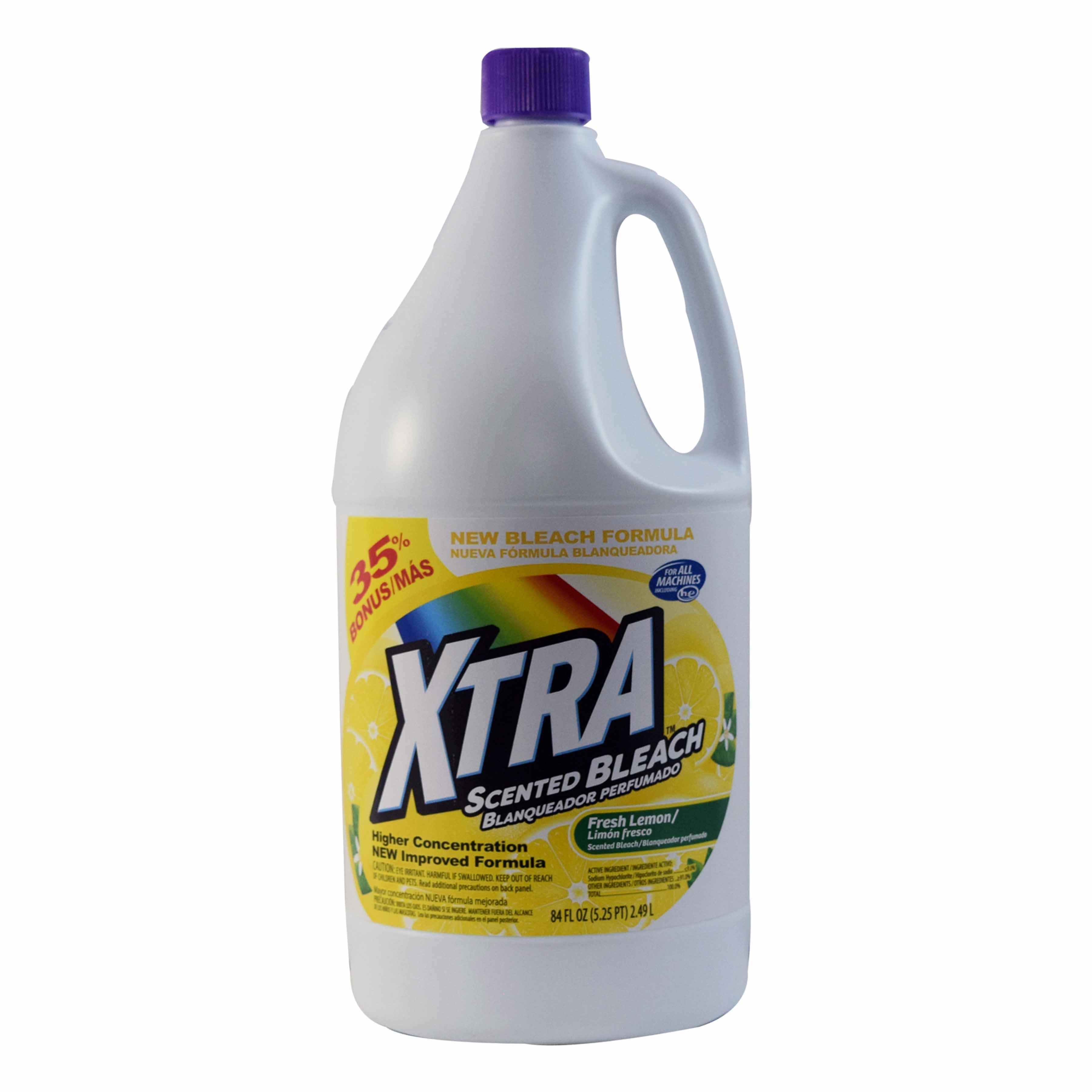 Xtra 84oz Bleach Fresh Lemon
