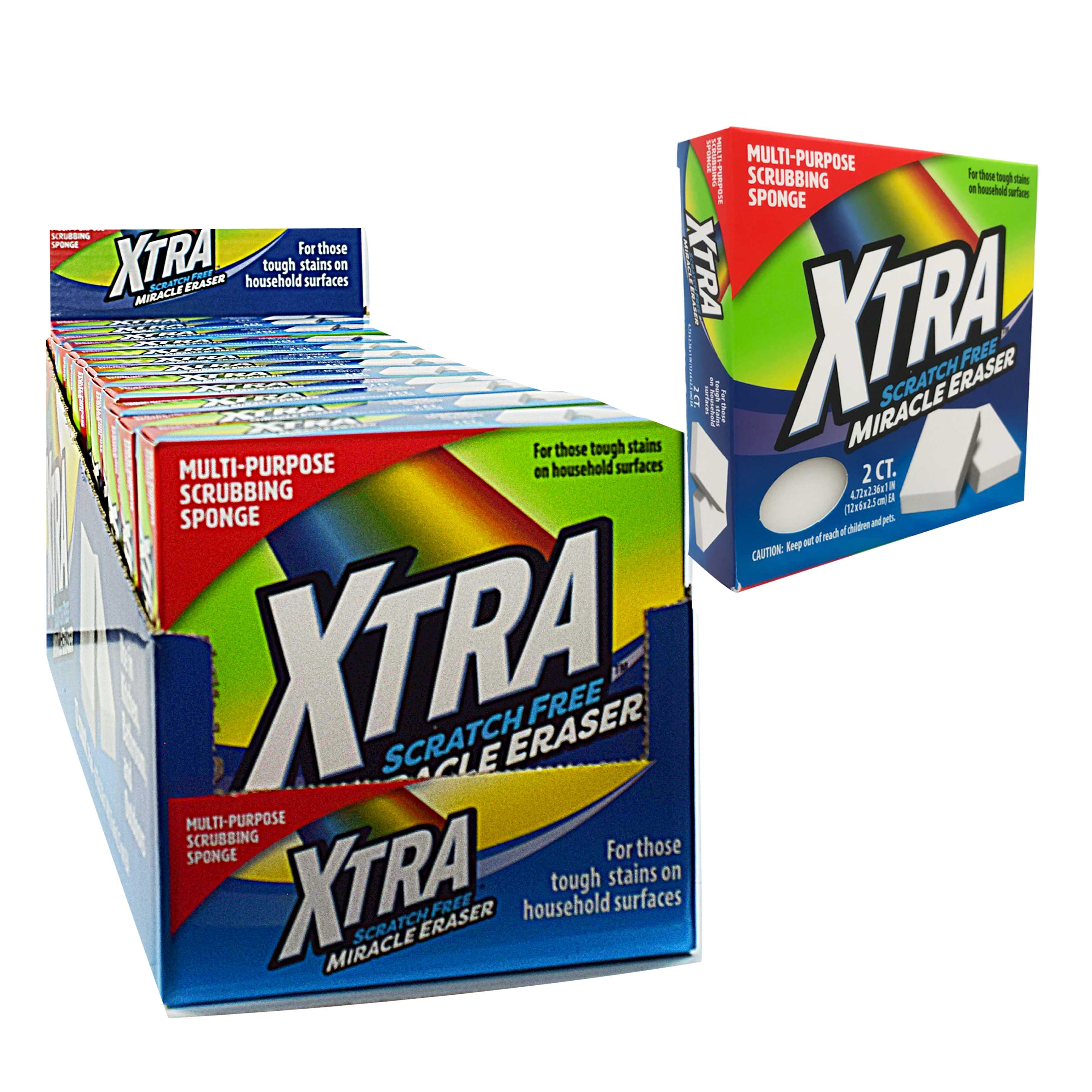 Xtra 2 ct. Miracle Eraser