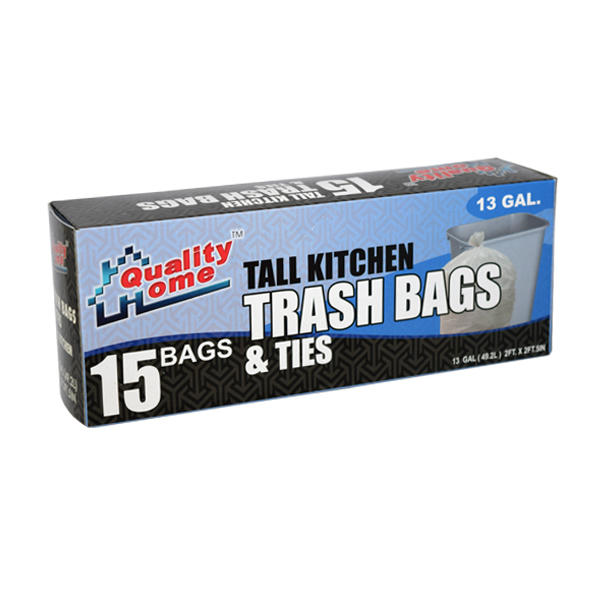 Garbage Bag Box 13G 15CT