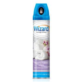 Wizard 10 oz. Aerosol Spray, Freshly Folded Linen