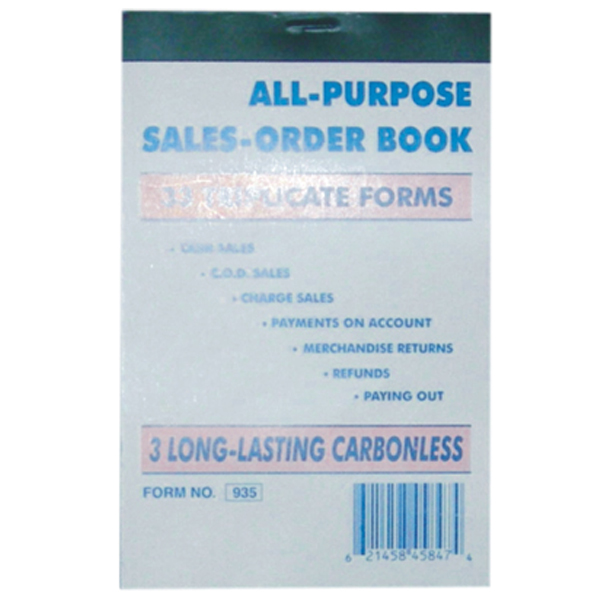 Duplicate Sales Book 4